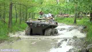6x6 Amphibious UTVs