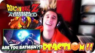 OMG ARE YOU BATMAN?! | LET'S WATCH DBZ Abridged Lord Slug *MOVIE* REACTION!!