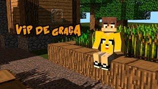 Minecraft: SERVIDOR PIRATA e ORIGINAL 1.8 Com VIP de Graça