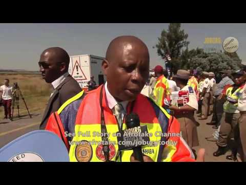 Afrotaking CITY NEWS - Easter Road Safety Campaign 2017 in Johannesburg