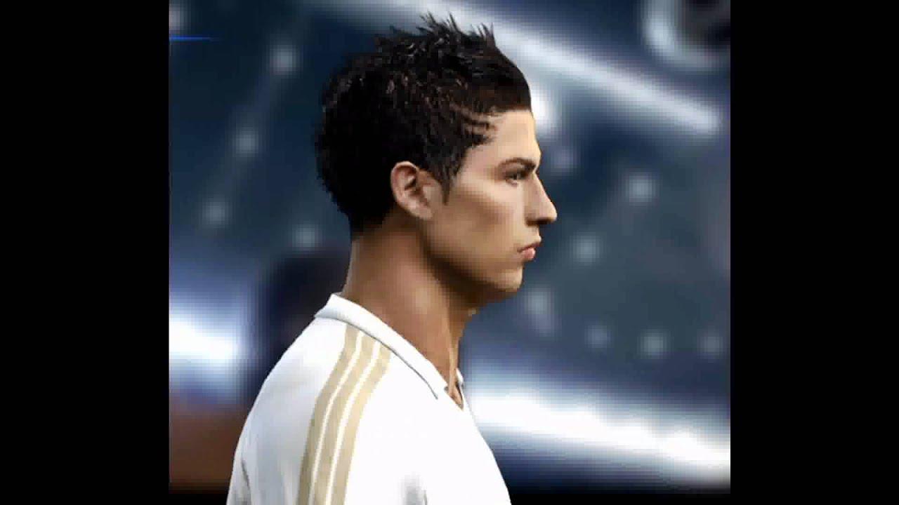 NUEVOS PEINADOS DE CRISTIANO RONALDO PES NEW HAIR STYLES OF - Cr7 hairstyle euro 2012