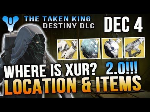 Xur location december 4 2015 destiny where is xur 12 4 15 telesto dec