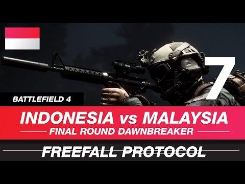 Indonesia Vs Malaysia : Final Round - Freefall Protocol // Squad Bunga Matahari