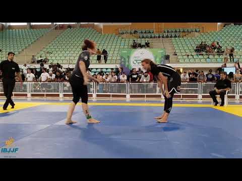 Claudia Doval vs Charlotte von Baumgarten / Lisbon Open NoGi 2018