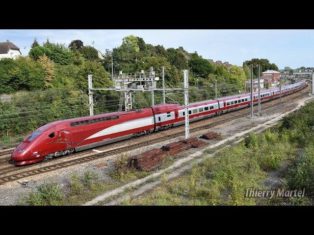 Thalys TGV PBKA - Rame n° 4306