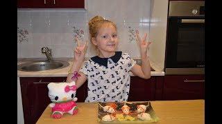 Рецепт.Закуска Мышата. Детские рецепты. Видео для детей.Дети готовят.