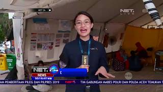 Live Report Selain Bantuan Logistik dan Sandang, Posko Juga Adakan Bantuan Trauma Healing   NET24
