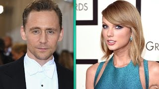 Tom Hiddleston Caught in Awkward Moment With Taylor Swift Street Art