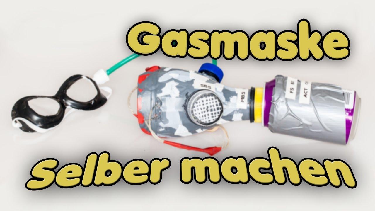 #make: Coole DIY Gasmaske Mit Aktivkohlefilter Selber Machen   Apocalypse  Survival