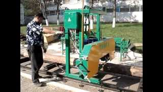 Работа на ленточной пилораме видео saw-timber pilam.ru
