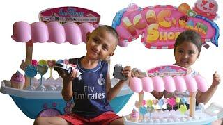 Cover images Yoga & Nayla Beli Mainan ice Cream shop-fun toys