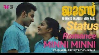 June Song | Minni Minni | Ifthi | Amritha Suresh | Rajisha Vijayan | Friday Film House song