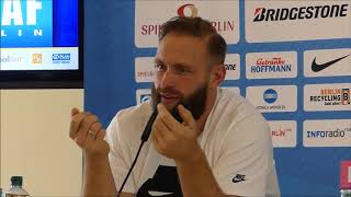 Robert Harting Abschied Istaf 2018 in Berlin