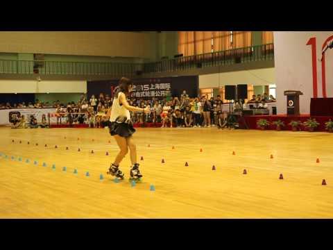Shanghai Slalom Open 2015 Freestyle classic Senior Women Su Fei Qian 1st place
