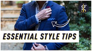 HOW TO DRESS WELL As A Man (12 Essential Style Tips) | Men's Fashion Advice