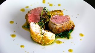 Veal Filet with Crispy Sweetbreads Recipe