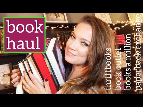 Book Haul: ThriftBooks, Books A Million, Book Outlet, Paperback Exchange {In Love & Words}