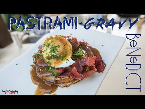 The Best Pastrami and Gravy Benedict   SAM THE COOKING GUY 4K