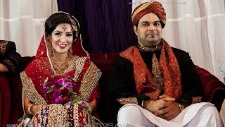 Naila and Shaan's Asian wedding in Norway.