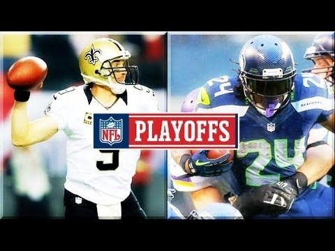 Saints vs Seahawks Divisional NFL Playoffs 2014 Breakdown & Prediction