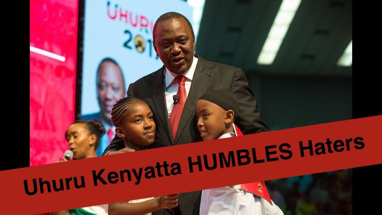 Uhuru Kenyatta CALMS 5-Year old HUMBLES his Haters   Kenya News