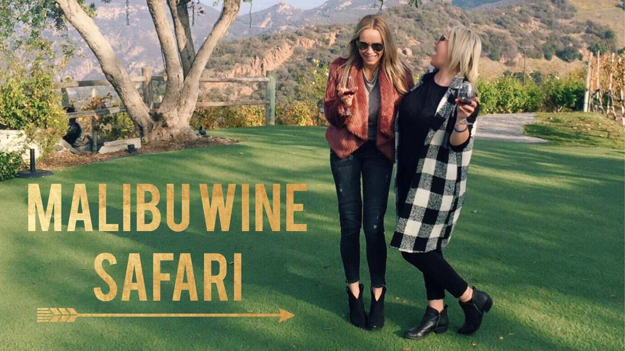 Malibu Wine Safari Vlog Youtube
