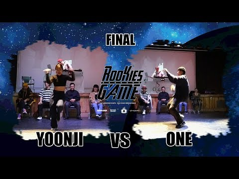 YoonJI vs ONE - Solo: Final @Rookies game Vol.3