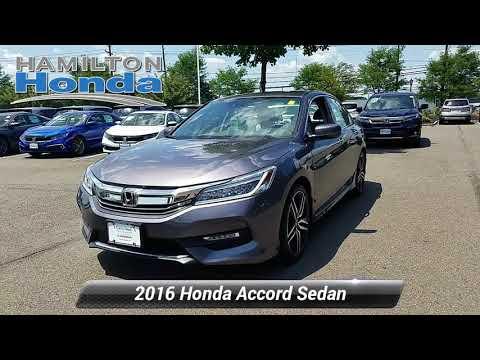 Certified 2016 Honda Accord Sedan Touring, Hamilton Township, NJ 27047P