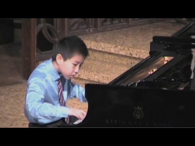 US OPEN - Burgmiller: Op. 100 #25, The Knight Errant - Brandon Wu, Feb 2014