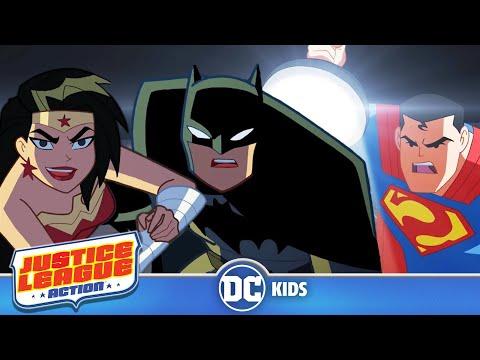 Justice League Action | Exclusive Shorts Episodes 1-5 | DC Kids