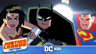 Justice League Action | Exclusive Shorts Episodes 1-5 | DC Kids