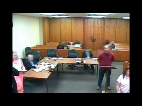 Berrien County Courthouse surveillance video of shooting
