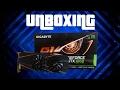 UNBOXING GTX 1060 GIGABYTE