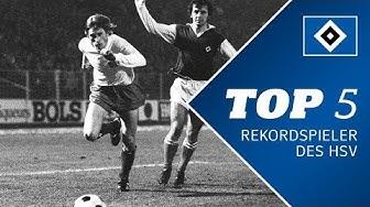 Top 5 - Rekordspieler des HSV