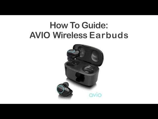 Getting Started with the AVIO Wireless Bluetooth Earbuds