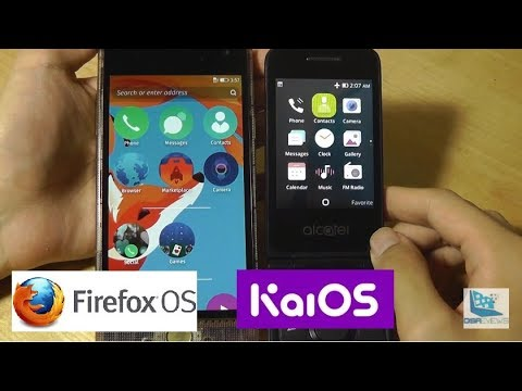 Comparison: KaiOS vs  Firefox OS [Mobile] - Similar, Yet Different