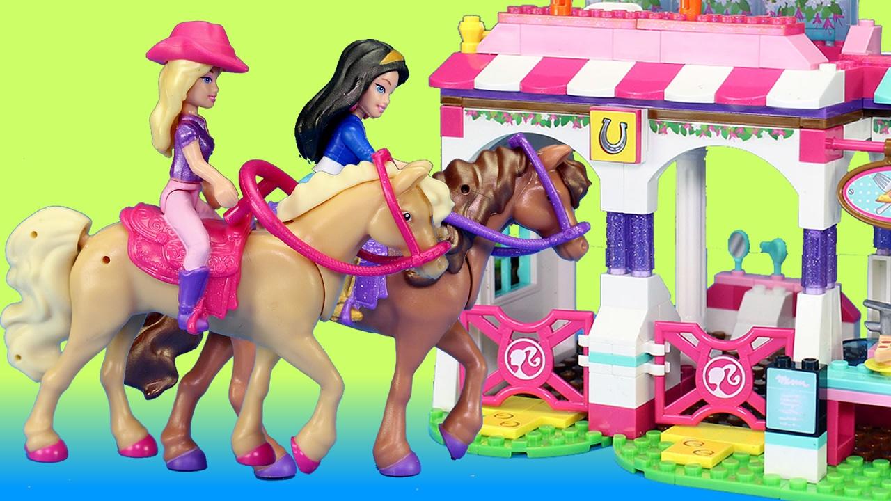 Barbie Nikki /& Horse Playset