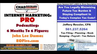 John Lee Dumas : Podcasting 6 Figures In 6 Months : Internet Marketing : PRO