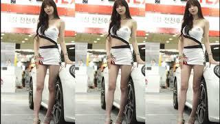 Áo Trắng Khoe Eo Thon Lắc Lư Cùng Xe Sang - Nhạc Hay Remix