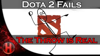 Dota 2 Fails - The Throw is Real