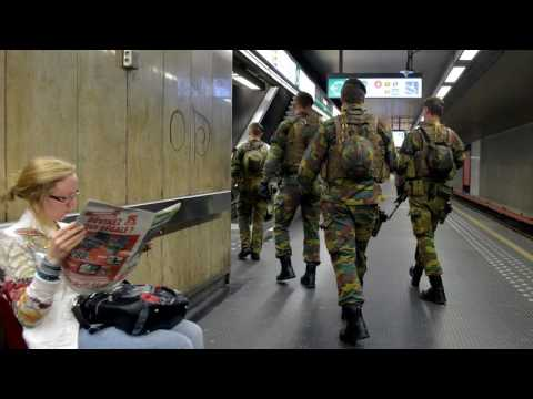 News Update Man 'shot in Brussels rail station' amid bomb belt claims 20/06/17