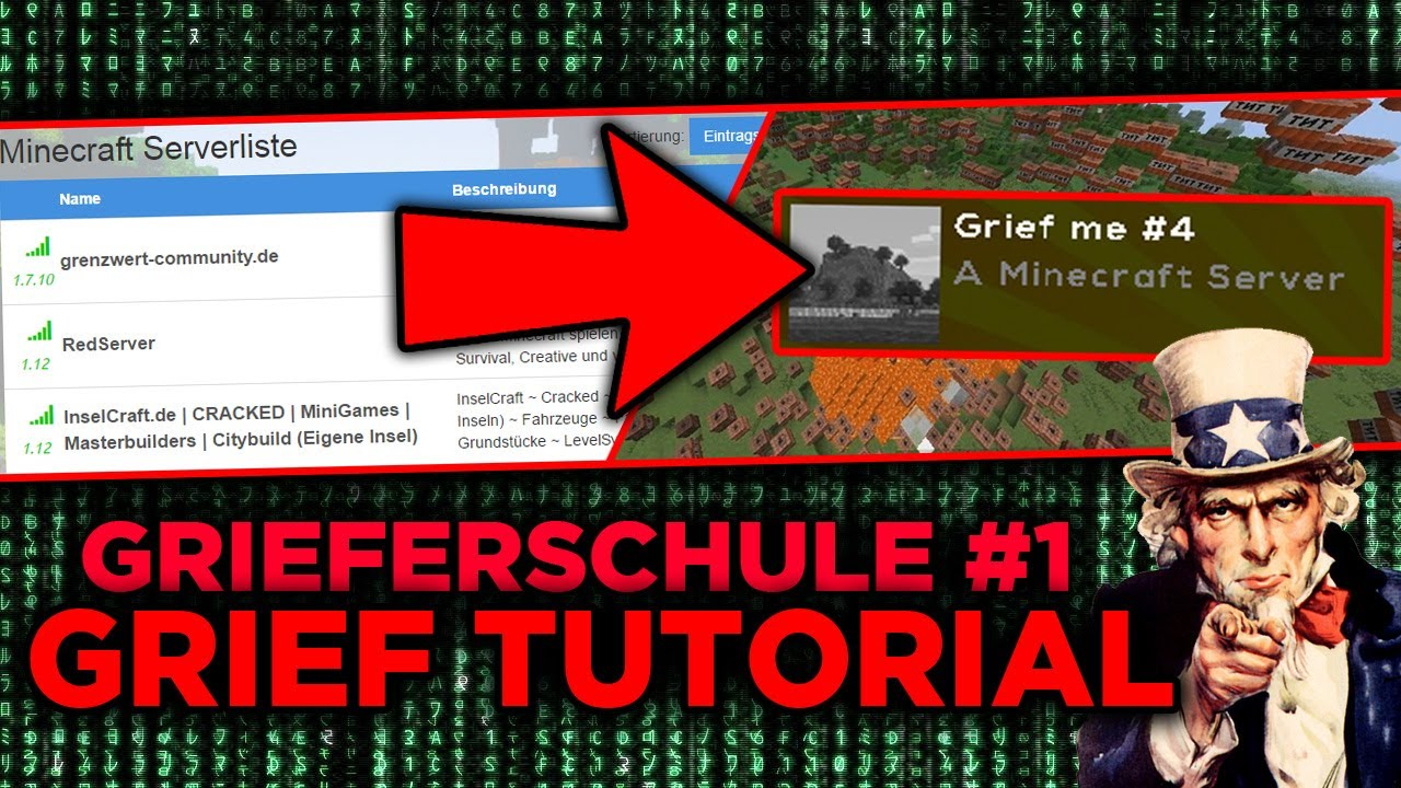 So Wirst DU Ein GRIEFER Minecraft Grief Server Finden - Minecraft spieler server finden