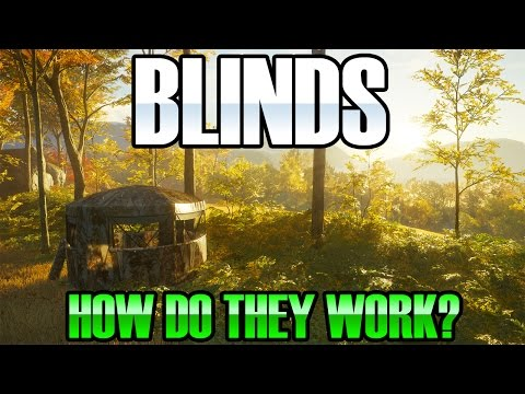 The Hunter Call of the wild - Blinds / Tents and skills