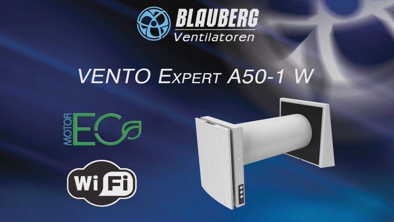 Blauberg Vento Expert A50-1 W – энергосберегающая вентиляция с ...