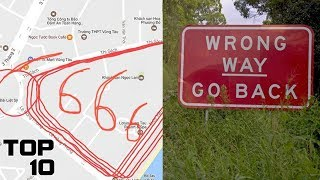 Top 10 Cursed GPS Routes That Should Never Be Taken