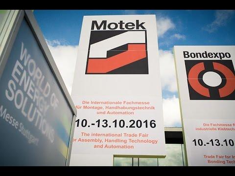 Messevideo Messefilm Stuttgart - Motek 2016