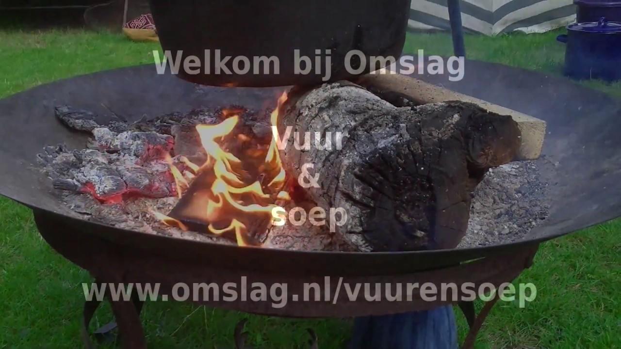 Vuur soep in de omslag tuin youtube