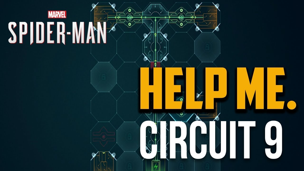 Spiderman Ps4 Stage 2 Intracranial Interface Puzzle 9 Solution Circuit Projects Guide Youtube