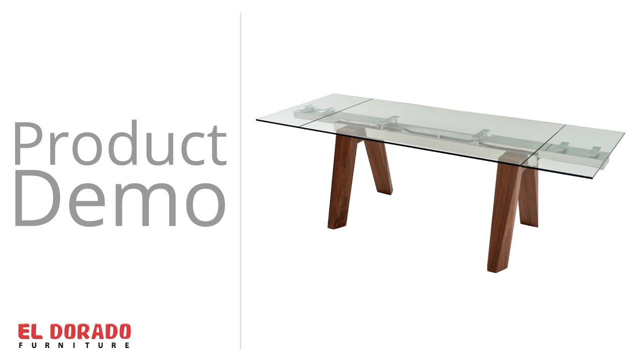 Valencia Extendable Dining Table El Dorado Furniture