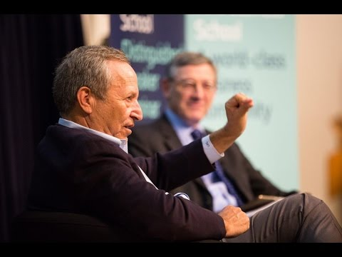 Lawrence H. Summers: Macroeconomics, world politics & working with two Presidents